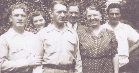 Vtg 1948 Photo Suicide Victim Robert Walters Jeanette Ann Bakery Battlecreek Mi